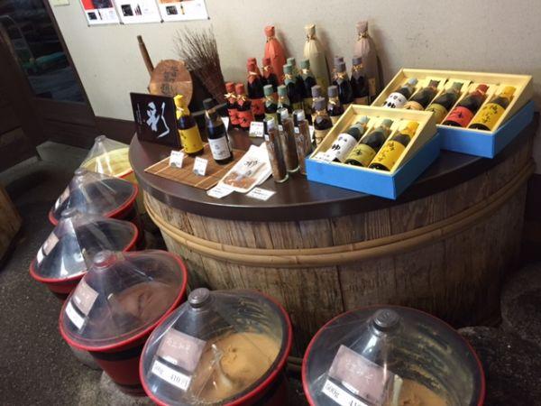 京都・鷹峯 松野醤油店 今でも手作り