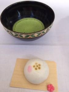 梅花祭 お茶