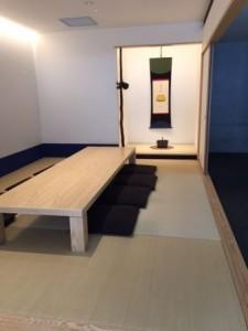 京カフェコムサ和室