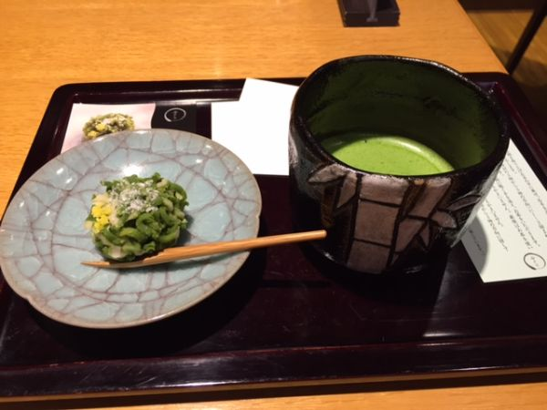 京都駅の抹茶カフェ