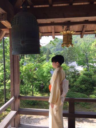 京都・長岡京 光明寺の月釜