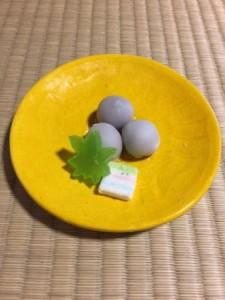 京都・二条城近く 二条駿河屋 松露