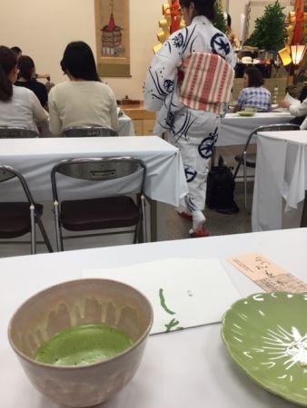 一人でも行ける 京都・祇園祭 本日まで、菊水鉾でお茶席