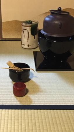 10月は中置き 茶室の季節の変わり目