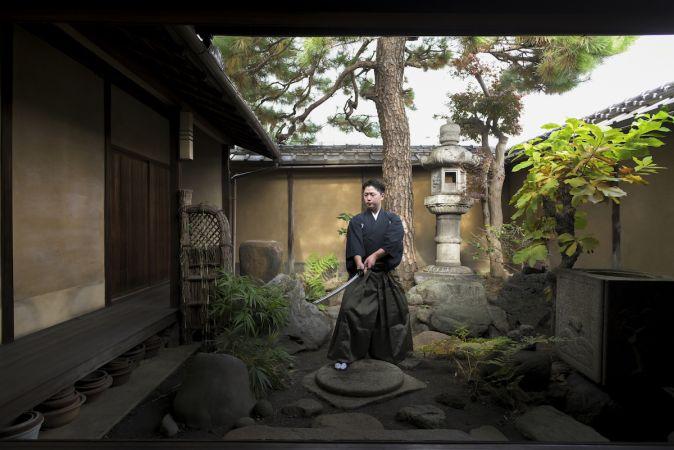 京都・四条大宮近く 居合道のプロから学ぶ!サムライ体験