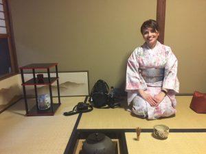 京都で茶道体験 アゼルバイジャンより