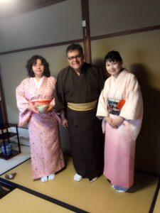 京都で茶道体験 ボリビア